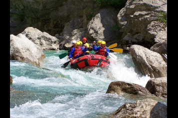 Rafting Office de tourisme de Castellane